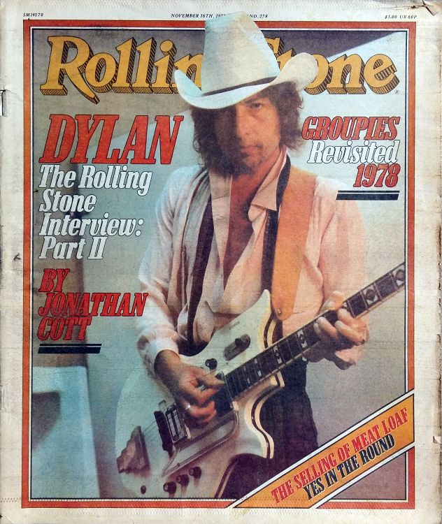 Rolling Stone US #278 magazine Bob Dylan cover story