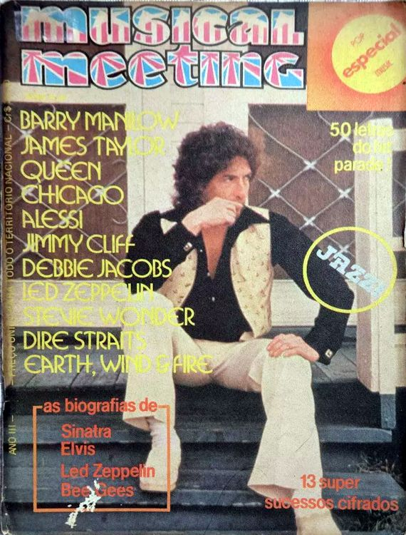 musical meetings magazine Bob Dylan cover story