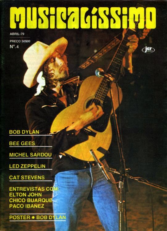 musicalissimo magazine Bob Dylan cover story