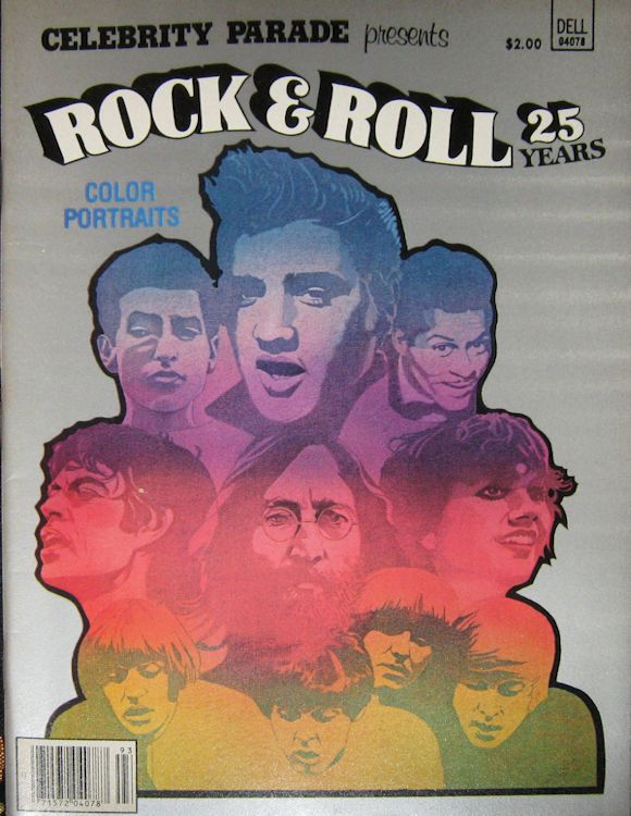 rock & roll 25 years magazine Bob Dylan cover story