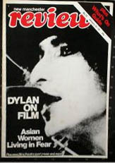 new manchester review magazine Bob Dylan cover story