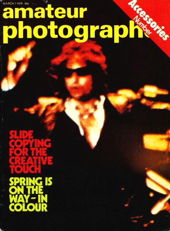 amateur photograph uk magazine Bob Dylan cover story