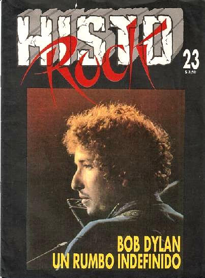 histo rock #23 argentina magazine Bob Dylan cover story