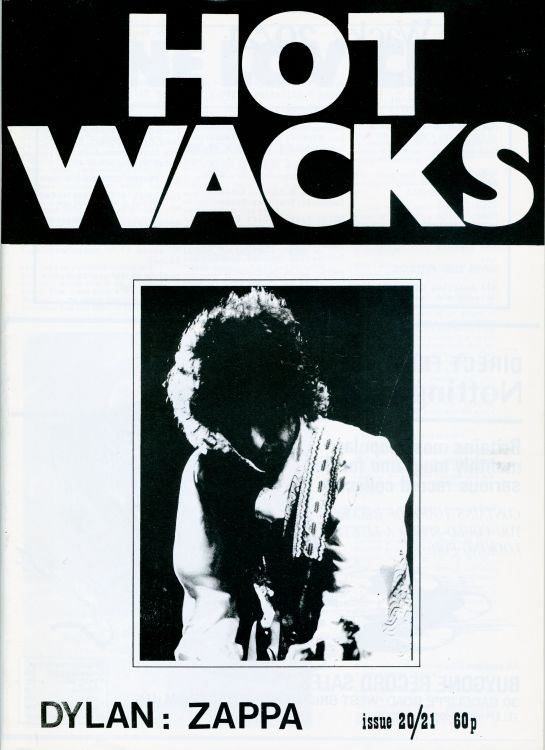 hot wax 1980 magazine Bob Dylan cover story