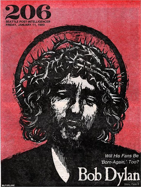 seattle post-intelligencer magazine Bob Dylan cover story