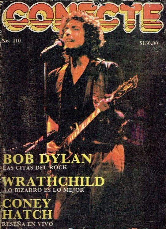 conecte magazine Bob Dylan cover story