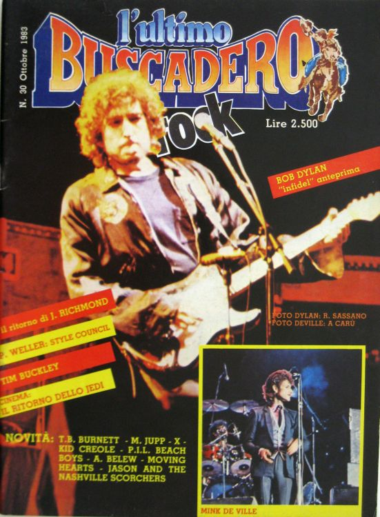 ultimo Buscadero magazine 30 Bob Dylan cover story