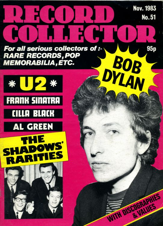 record collector magazine #51 uk Bob Dylan cover story