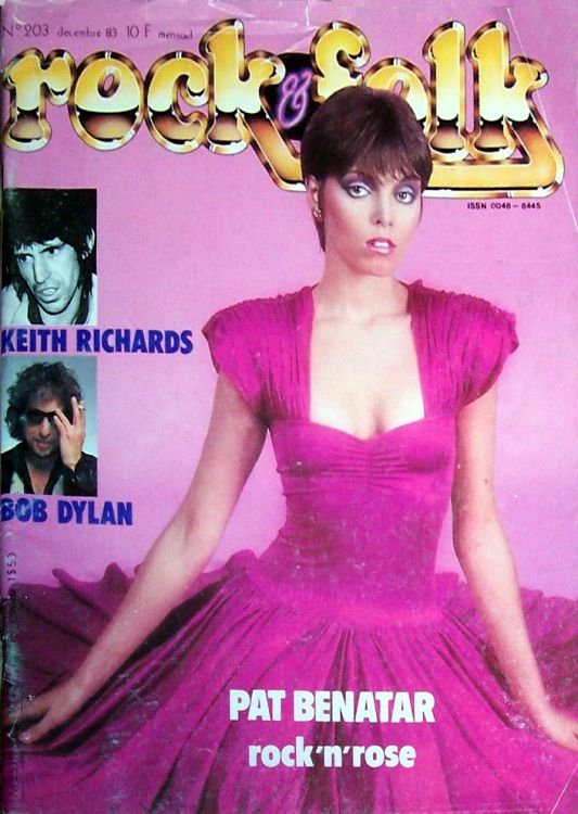 rock & folk magazine france #203 Bob Dylan cover story