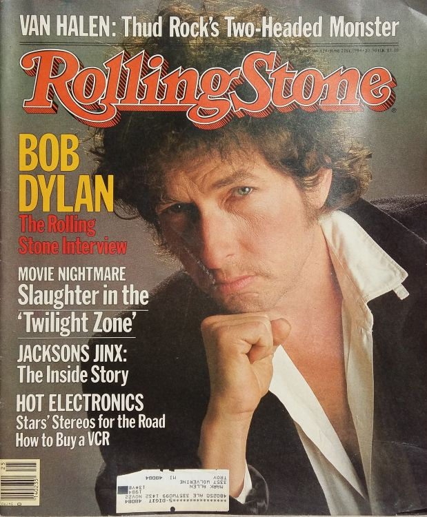 Rolling Stone US #424 magazine Bob Dylan cover story