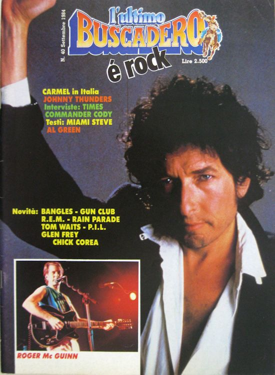 Buscadero magazine40  Bob Dylan cover story