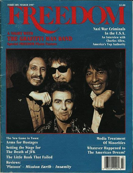 freedom usa magazine Bob Dylan cover story