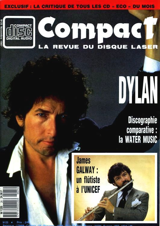 compact magazine Bob Dylan cover story