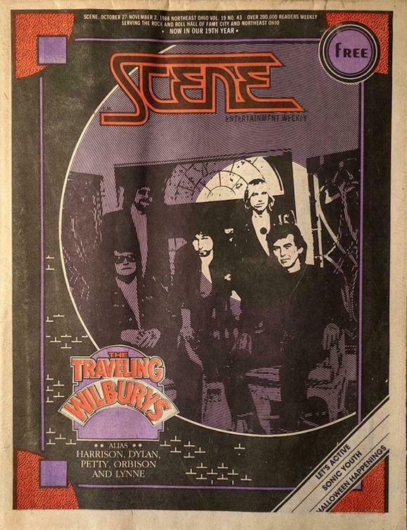 the scene 1988 entertaiment weekly usa magazine Bob Dylan cover story