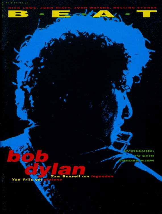 beat norway cover 1990 magazine Bob Dylan cover story