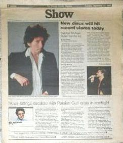 show September 1990 magazine Bob Dylan cover story