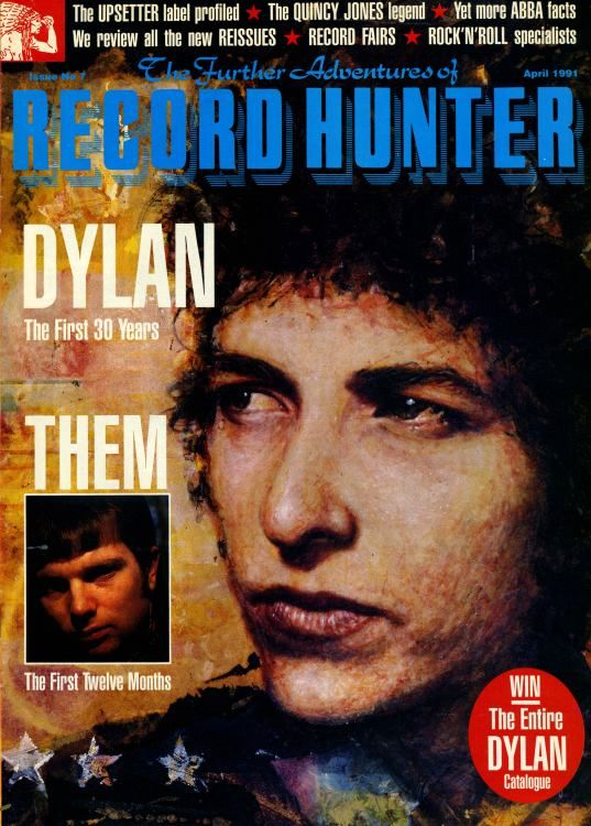 record hunter magazine Bob Dylan cover story