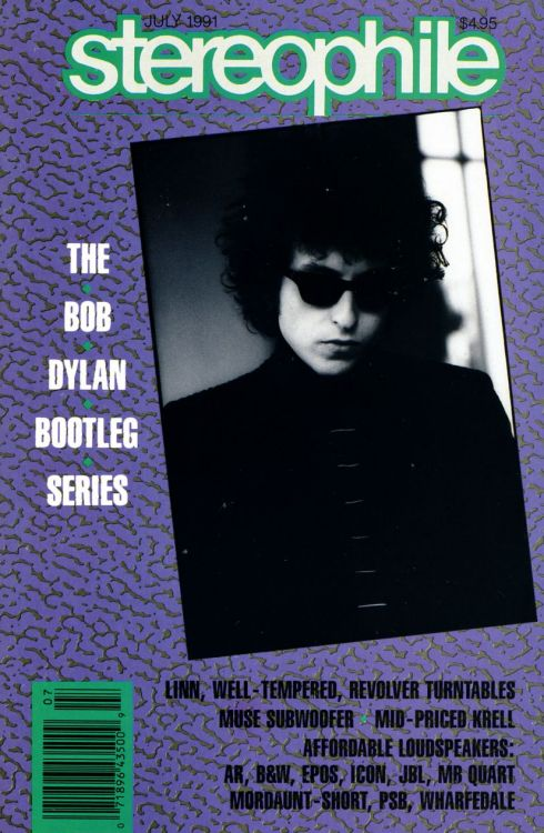 stereophile magazine Bob Dylan cover story