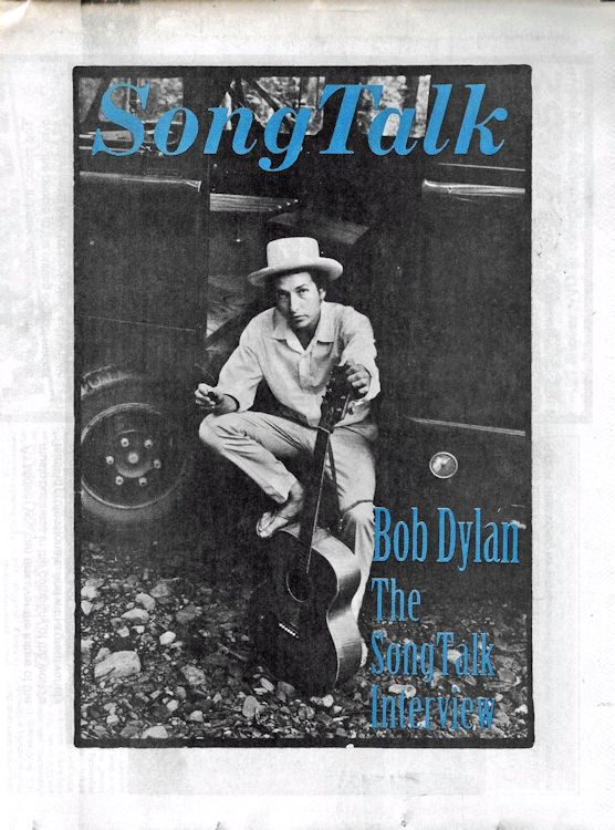 song talk magazine Bob Dylan cover story