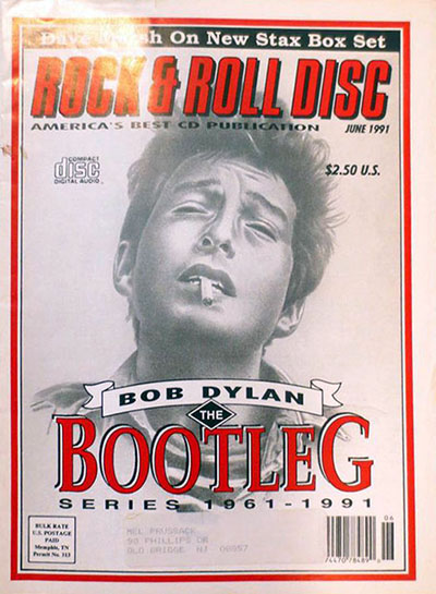 rock & roll disc magazine Bob Dylan cover story