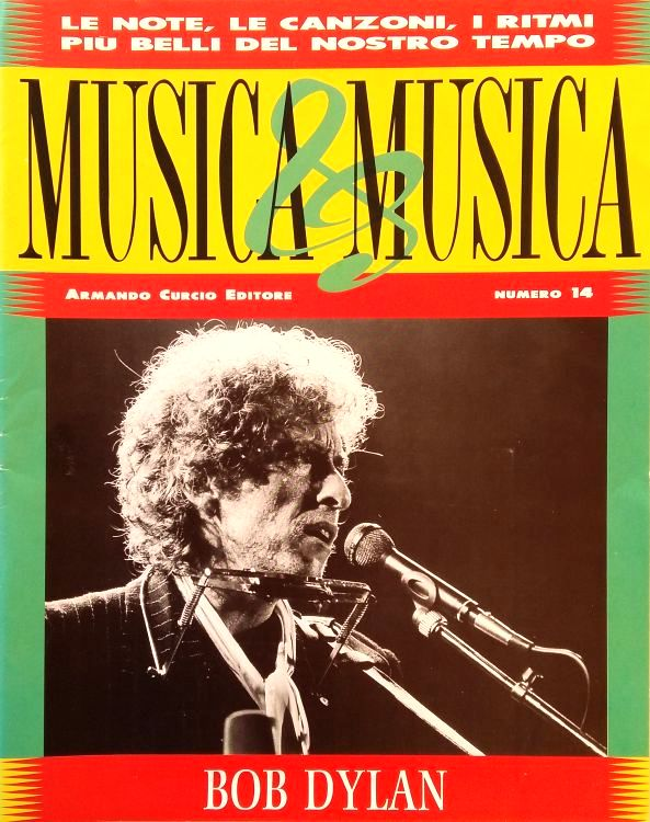 musica & musica magazine Bob Dylan cover story