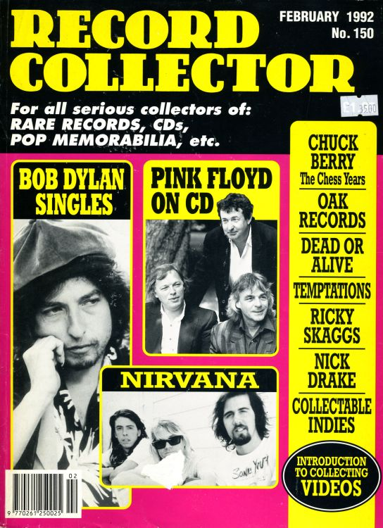 record collector magazine #150 uk Bob Dylan cover story