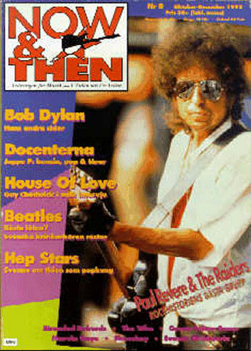 now & then magazine Bob Dylan cover story