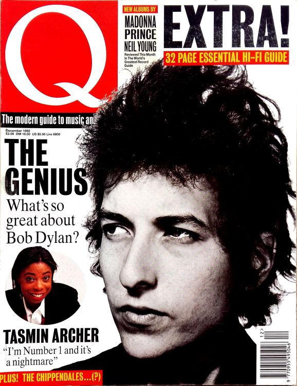 Q magazine December 1992 Bob Dylan cover story