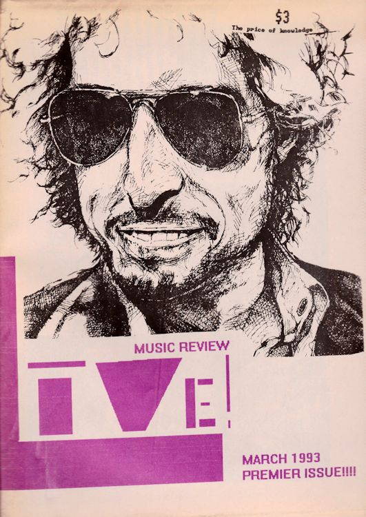 live! music review 1993 magazine Bob Dylan cover story