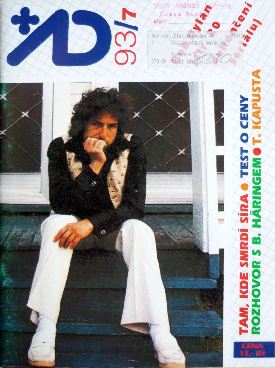 AD magazine Bob Dylan cover story