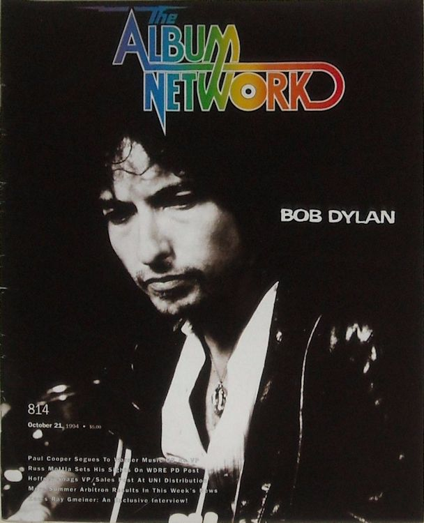 the album network 1994 magazine Bob Dylan cover story