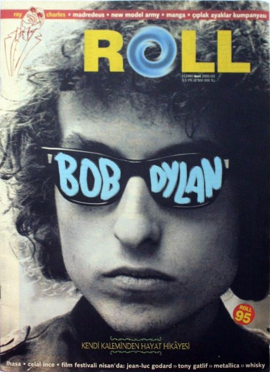 roll turkey March 1995 magazine Bob Dylan cover story