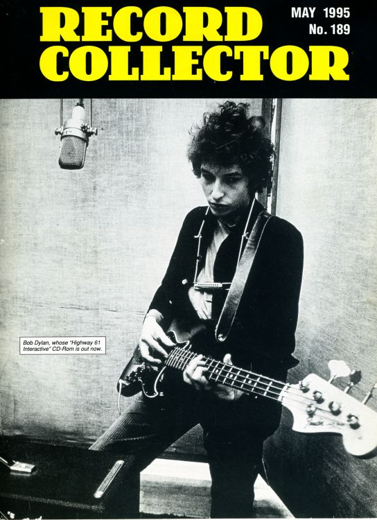 record collector magazine #189 uk Bob Dylan cover story