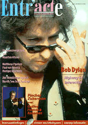 entr'acte magazine Bob Dylan cover story