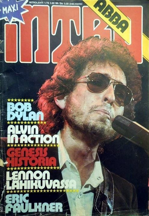 intro magazine Bob Dylan cover story