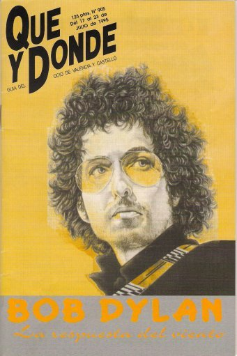 que y donde magazine Bob Dylan cover story