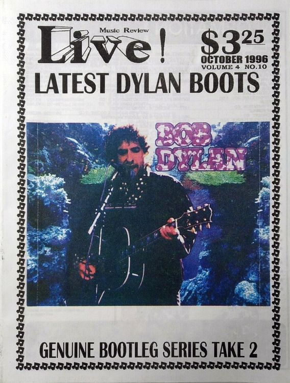 live! music review 1996 magazine Bob Dylan cover story