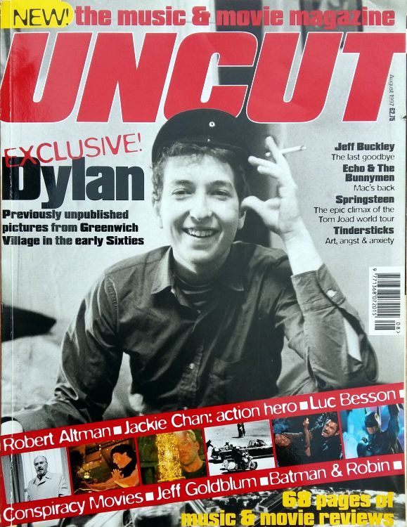 uncut magazine August 1997 Bob Dylan cover story
