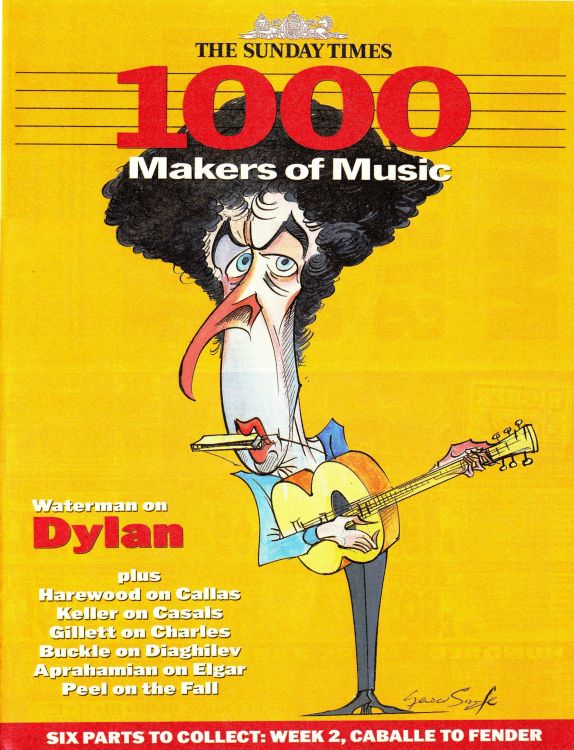 magazine Bob Dylan cover story