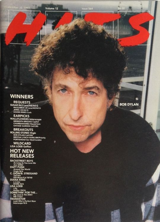 hits 1997 magazine Bob Dylan cover story