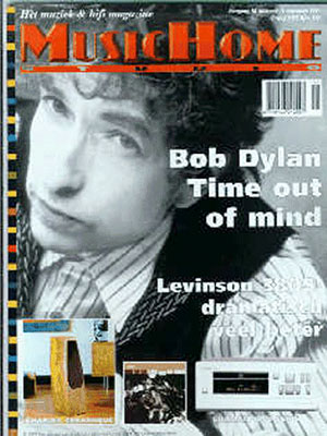 musichome magazine Bob Dylan cover story