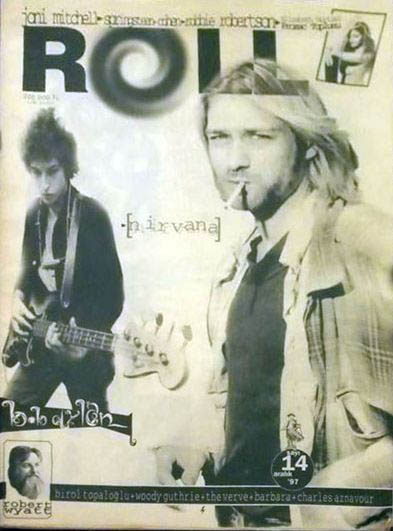 roll turkey December 1997 magazine Bob Dylan cover story