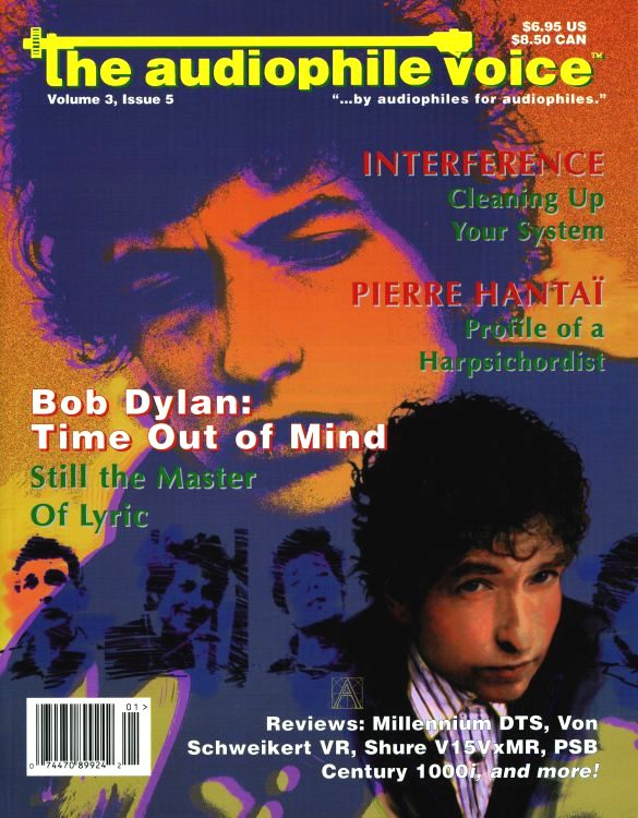 the audiophile voice 1997 magazine Bob Dylan cover story
