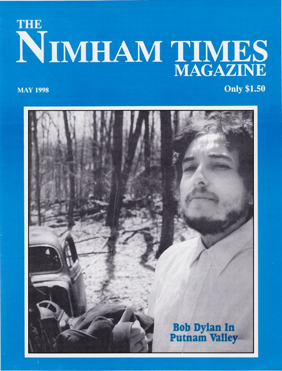 the nimham times magazine Bob Dylan cover story