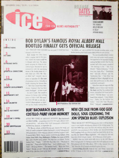 ice 1998 09 magazine Bob Dylan cover story