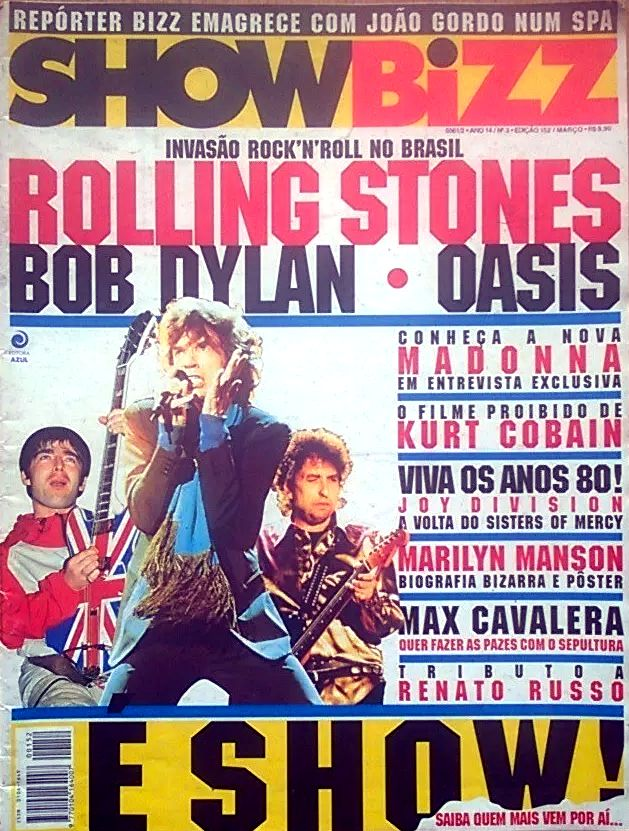 show bizz magazine Bob Dylan cover story