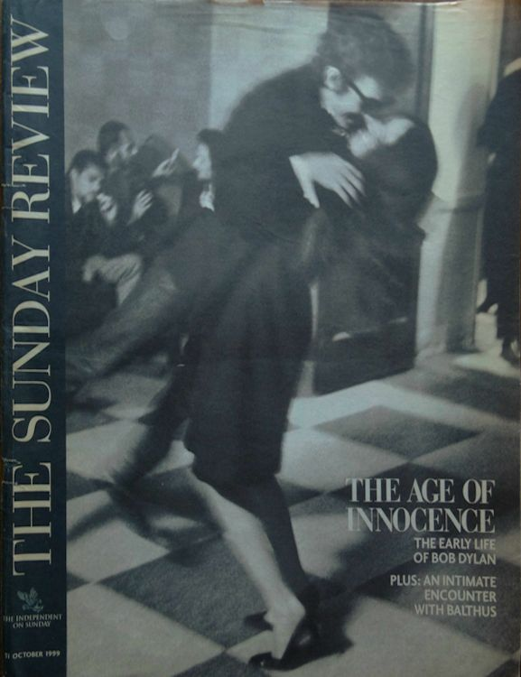 the independant the sunday review magazine 1999 Bob Dylan cover story