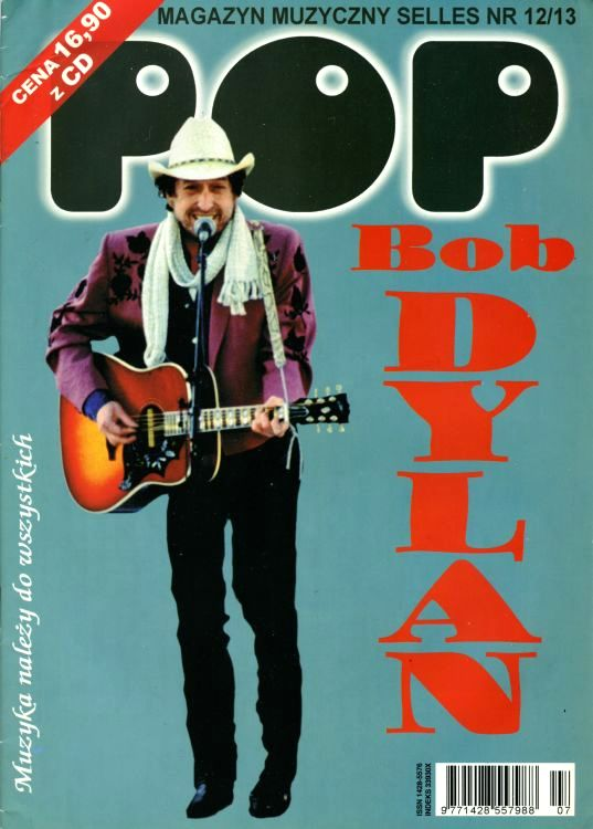 pop poland magazine Bob Dylan cover story