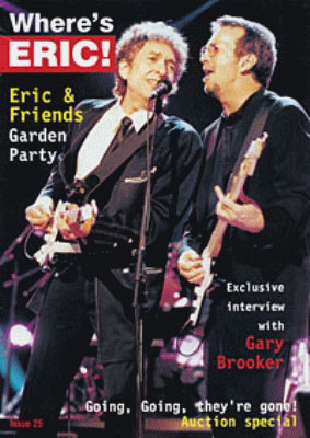 where is eric, clapton fanzine Bob Dylan cover story