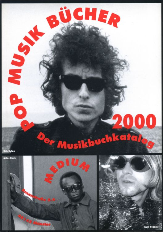 pop musik bücher 2000 magazine Bob Dylan cover story